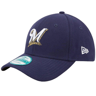 New Era Cap THE LEAGUE Milwaukee Brewers Navy